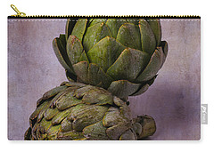 Two Artichokes Carry-all Pouch by Garry Gay