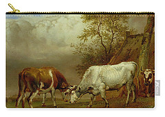 Bull Fights Carry-all Pouches