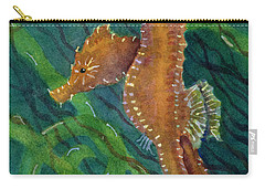 Two By Sea Carry-all Pouch by Amy Kirkpatrick