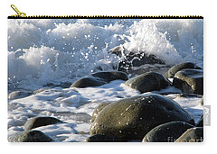 Two Elements Carry-all Pouch by Jola Martysz