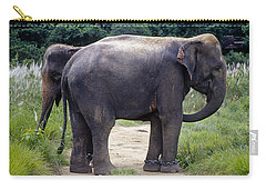 Two Elephants Carry-all Pouch