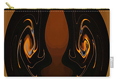 Two Faces Carry-all Pouch by Athala Carole Bruckner