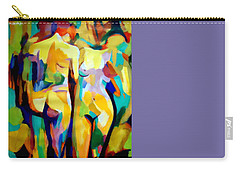 Carry-all Pouch featuring the painting Two Nudes by Helena Wierzbicki