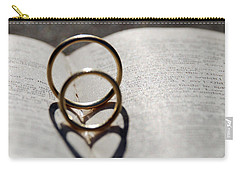 Two Hearts As One Carry-all Pouch