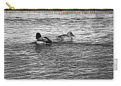 Carry-all Pouch featuring the photograph Two by Lenore Senior