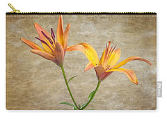 Two Lilies Carry-all Pouch