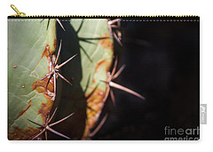 Two Shades Of Cactus Carry-all Pouch