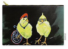Two Smokin Hot Chicks Carry-all Pouch