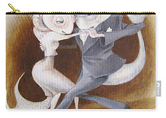 Carry-all Pouch featuring the painting Two To Tango by Marina Gnetetsky