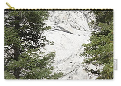 Carry-all Pouch featuring the photograph Two Trees And The Peak by Amy Gallagher