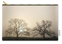 Two Trees In Fog Carry-all Pouch