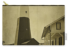 Tybee Island Light Station Carry-all Pouch by Priscilla Burgers