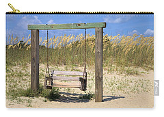 Tybee Island Swing Carry-all Pouch by Gordon Elwell