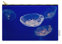 Carry-all Pouch featuring the photograph Ufo-moon Jellyfishes by Eti Reid