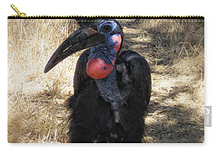 Ugly Bird Ball Carry-all Pouch by Donna Blackhall