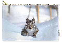 Is Winter Over Yet Carry-all Pouch by Heather King