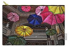 Umbrella Fun Carry-all Pouch by Joan  Minchak