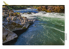Carry-all Pouch featuring the photograph Umpqua River by David Millenheft