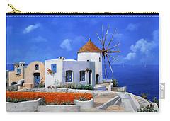 un mulino in Grecia Carry-all Pouch