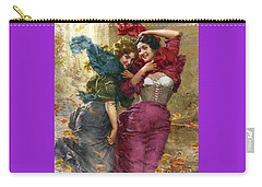 Una Folata Di Vento Carry-all Pouch by Pg Reproductions