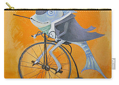 Carry-all Pouch featuring the painting Uncle Bernard by Marina Gnetetsky