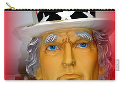 Uncle Sam Wants You Carry-all Pouch by Ed Weidman