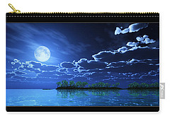 Under A Silvery Moon... Carry-all Pouch by Tim Fillingim