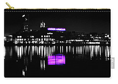 Under Amour At Night - Vibrant Color Splash Carry-all Pouch