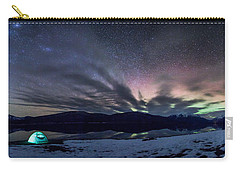 Under Big Skies Carry-all Pouch by Aaron Aldrich