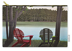 Under Muskoka Trees Carry-all Pouch by Kenneth M  Kirsch