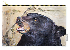 Under The All Sky Carry-all Pouch by J W Baker