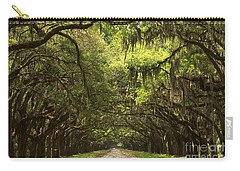 Under The Ancient Oaks Carry-all Pouch by Adam Jewell