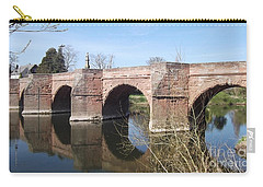 Carry-all Pouch featuring the photograph Under The Arches by Tracey Williams