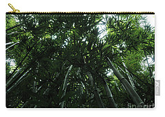 Carry-all Pouch featuring the photograph Under The Bamboo Haleakala National Park  by Vivian Christopher