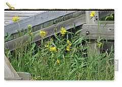 Under The Boardwalk Carry-all Pouch by Laurel Powell