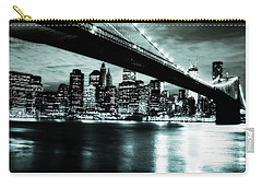 Under The Bridge Carry-all Pouch by Pennie  McCracken