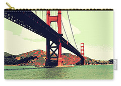 Under The Golden Gate Carry-all Pouch by Michelle Calkins