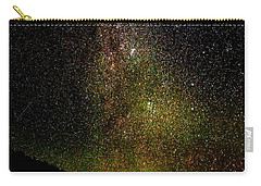Carry-all Pouch featuring the photograph Under The Milky Way by Greg Norrell