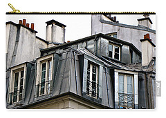 Under The Rooftops Of Paris Carry-all Pouch