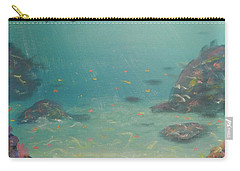 Under The Sea Carry-all Pouch by Pamela  Meredith