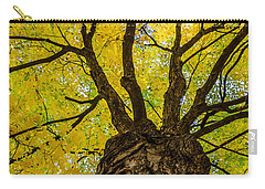 Under The Yellow Canopy Carry-all Pouch