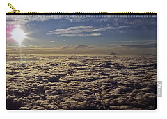 Carry-all Pouch featuring the photograph Undercast And Sun by Greg Reed