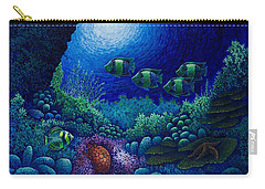 Undersea Creatures Iv Carry-all Pouch