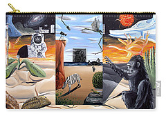 Carry-all Pouch featuring the digital art Understanding Everything Full by Ryan Demaree