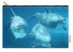 Underwater Dolphin Encounter Carry-all Pouch