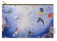 Underwater World Iv  Carry-all Pouch by Odile Kidd