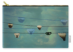 Underwear On A Washing Line  Carry-all Pouch