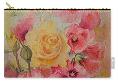 Carry-all Pouch featuring the painting Unexpected by Beatrice Cloake