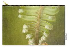 Unfurling Fern Carry-all Pouch