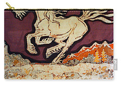 Unicorn Above Chasm Carry-all Pouch